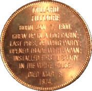 Token - Presidential Hall of Fame (Millard Fillmore) – reverse