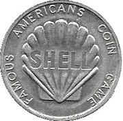 Token - Shell Famous Americans Coin Game (John Paul Jones) – reverse