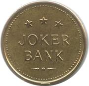 Game Token - Joker Bank – obverse
