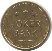 Game Token - Joker Bank – reverse