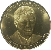 Token - James E. Carter Jr. – obverse