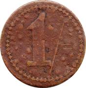 1 Shilling - W. Cassell (Birmingham) – reverse