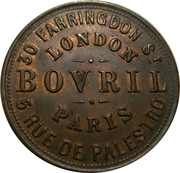 Token - Bovril (Farthing-sized; French type) -  obverse