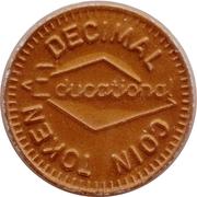 1 New Penny (Decimal Coin Token) – obverse