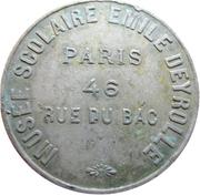 5 Franc - Musée Scolaire Emile Deyrolle – reverse