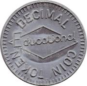 5 New Pence (Decimal Coin Token) – obverse