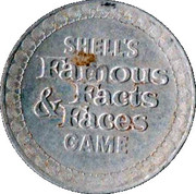 Token - Shell's Famous Facts and Faces Game (Paul Revere) – reverse