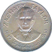 Token - Presidential Hall of Fame (Zachary Taylor) – obverse