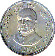 Token - Presidential Hall of Fame (John Quincy Adams) – obverse