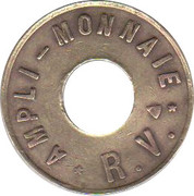 Token - Ampli monnaie R.V. – reverse