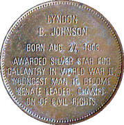 Token - Presidential Hall of Fame (Lyndon B. Johnson) – reverse