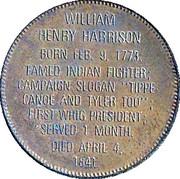 Token - Presidential Hall of Fame (William Henry Harrison) – reverse