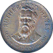 Token - Presidential Hall of Fame (Rutherford B. Hayes) – obverse