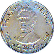 Token - Presidential Hall of Fame (Franklin Pierce) – obverse