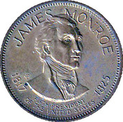Token - Presidential Hall of Fame (James Monroe) – obverse