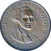 Token - Presidential Hall of Fame (George Washington) – obverse