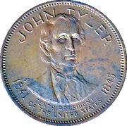 Token - Presidential Hall of Fame (John Tyler) – obverse