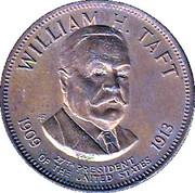 Token - Presidential Hall of Fame (William H. Taft) – obverse