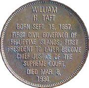 Token - Presidential Hall of Fame (William H. Taft) – reverse