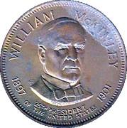 Token - Presidential Hall of Fame (William McKinley) – obverse