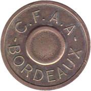 Token - C.F.A.A. Bordeaux – obverse