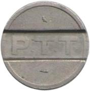 Telephone Token - PTT – reverse