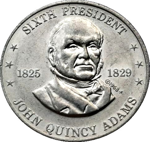 Grover Cleveland--1968 Shell Presidential Coin