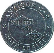 Token - Sunoco Antique Car Coin Series 1 (Dodge Sedan) – reverse
