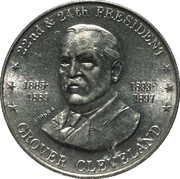 Token - Shell's Mr. President Coin Game (Grover Cleveland) – obverse