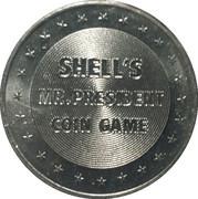Token - Shell's Mr. President Coin Game (Grover Cleveland) – reverse