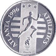 Token - Atlanta 1996 US Olympic Team, General Mills Sponsor (Athletics) – obverse