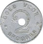 2 Brooden - S.M. de Voorzorg (Roeselare) – reverse
