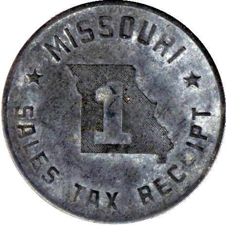 missouri sales tax receipt coin 5