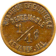 ¼ Cent - Kewanee (Illinois) – obverse