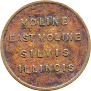 ¼ Cent - Moline (Illinois) – obverse
