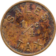 ¼ Cent - Moline (Illinois) – reverse