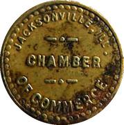¼ Cent - Jacksonville (Illinois) – obverse