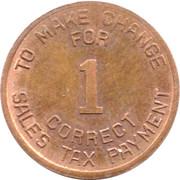 1 Mill - Sales Tax Payment (Arizona) -  reverse