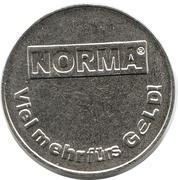 Supermarket deposit token - Norma (Pfand 1x0.25) – obverse