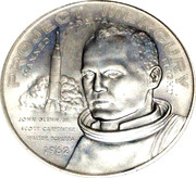 So-Called Half Dollar - Project Mercury / Telstar – obverse