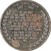 Token - Civil War memorial – reverse
