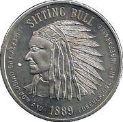 Token - State of North Dakota (Sitting Bull) – obverse