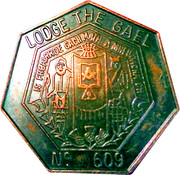 Token - Lodge The Gael – obverse