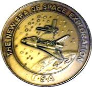 Token - The New Era of Space Exploration (41C - Challenger) – reverse