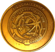 Token - The New Era of Space Exploration (41C - Challenger) – obverse