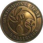 Multinational Force & Observers – obverse