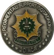 Regimental Support Squadron – obverse