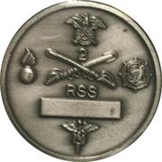 Regimental Support Squadron – reverse