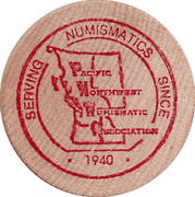 Token - Pacific Northwest Numismatic Association – obverse