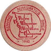 Token - Pacific Northwest Numismatic Association – obverse
